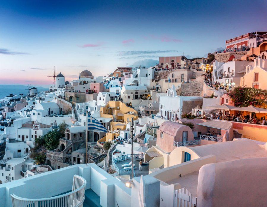 Santorini Grece lune de miel voyage de noces travellia